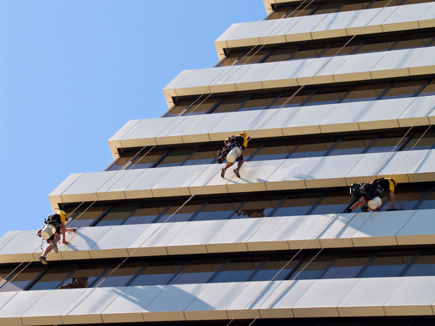 Rope Access personnel