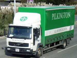 Pilkington Glass lorry