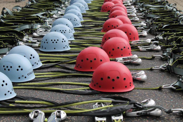 Climbing helmets