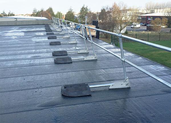 Folding Guardrail