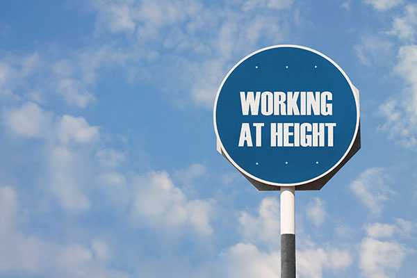 Working at Height Sign