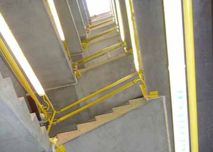 Temporary Stair|Safe Railing | Stair Access | Heightsafe