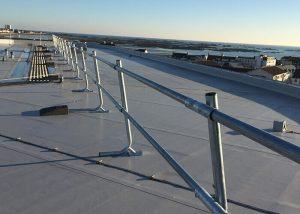 Freestanding Guardrail & Handrail