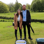Heightsafe Charity Golf Day - India Ikonomides and Harry Boshell