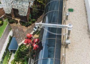 Davit Arm Systems Install Portable Façade Rope Access