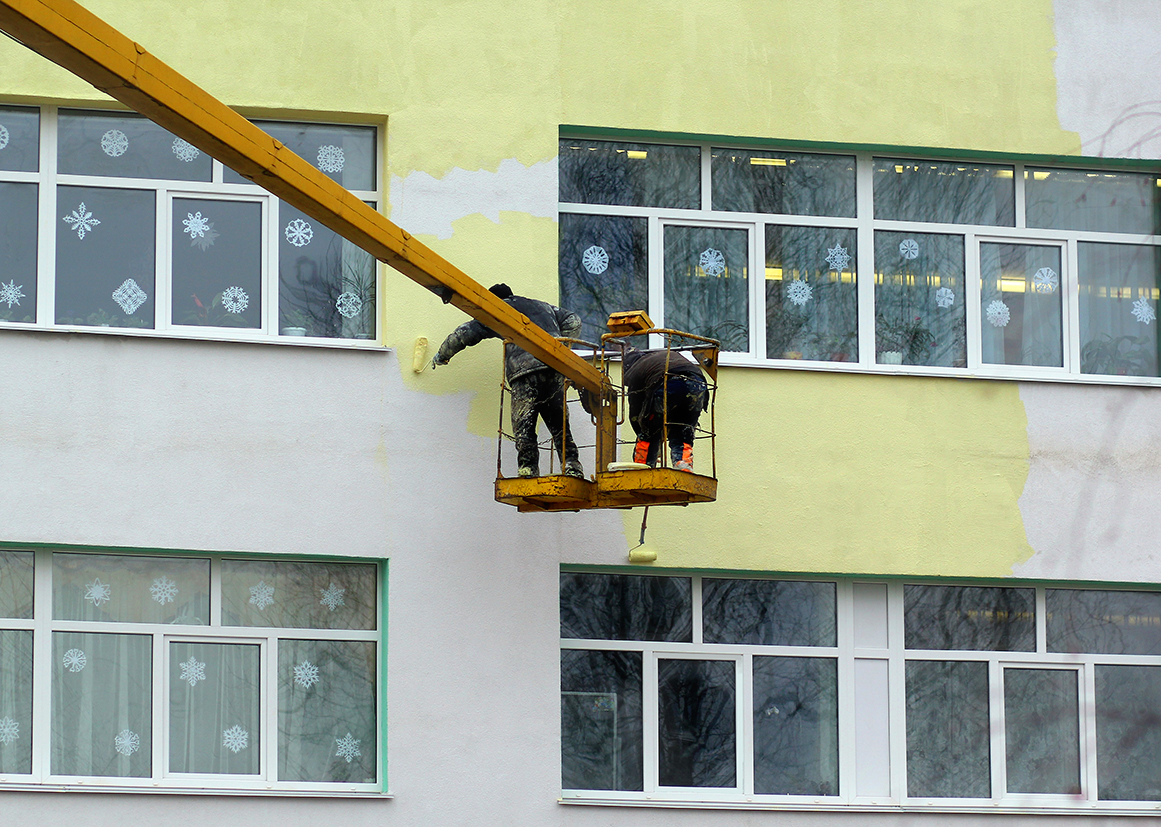 Work-at-Height-painting-school
