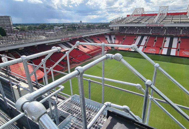 Rooftop view of Old Trafford