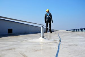 Horizontal Fall Restraint Safety Line System