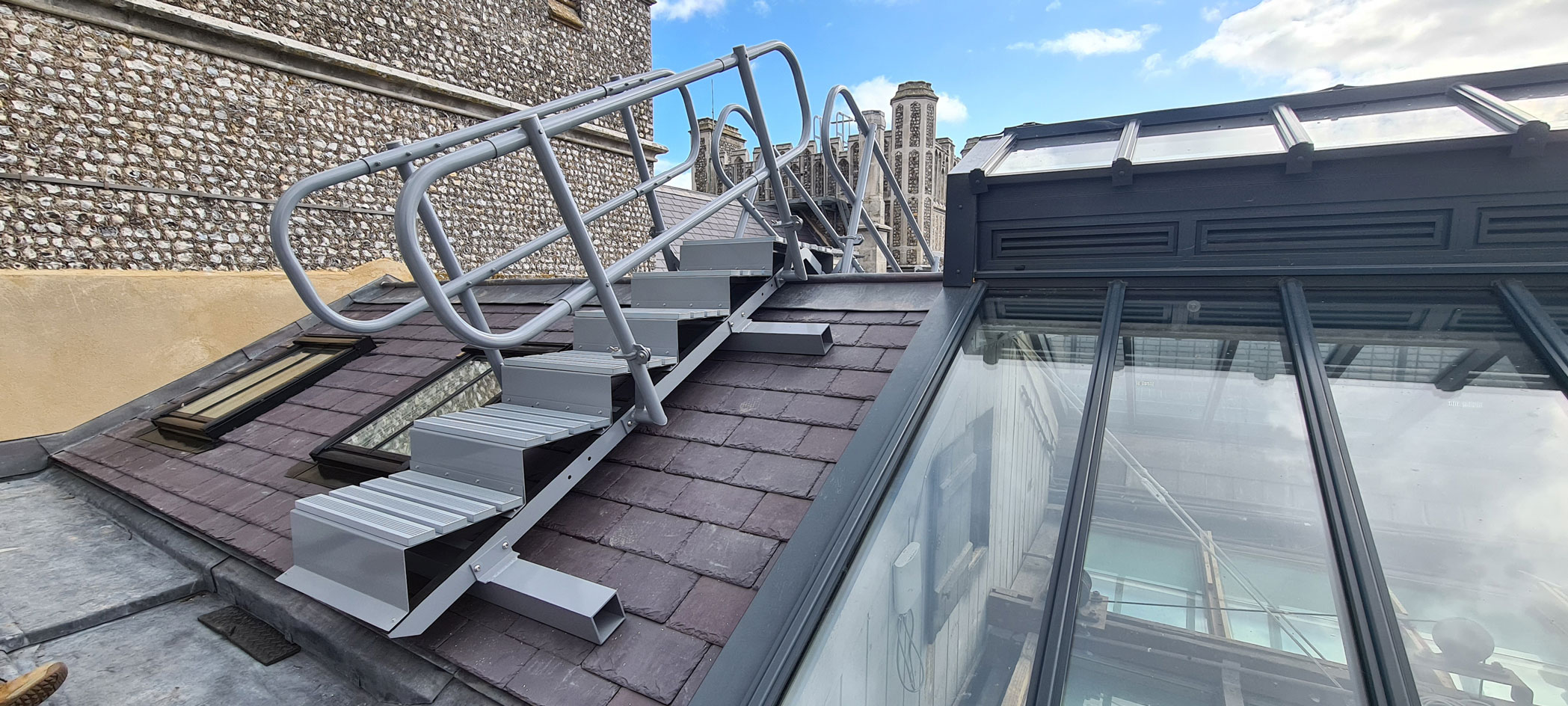 Access Step Unit after installation