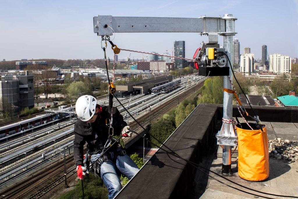 Davit Arm Heightsafe rope access image