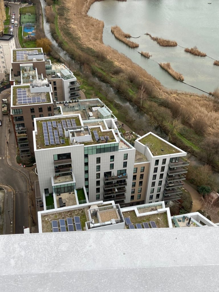 Woodberry Down from above