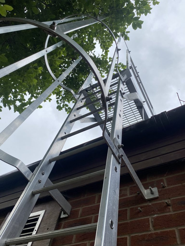 Heightsafe Access Ladder Testing as part of Annual Compliance Visit at Chester Zoo