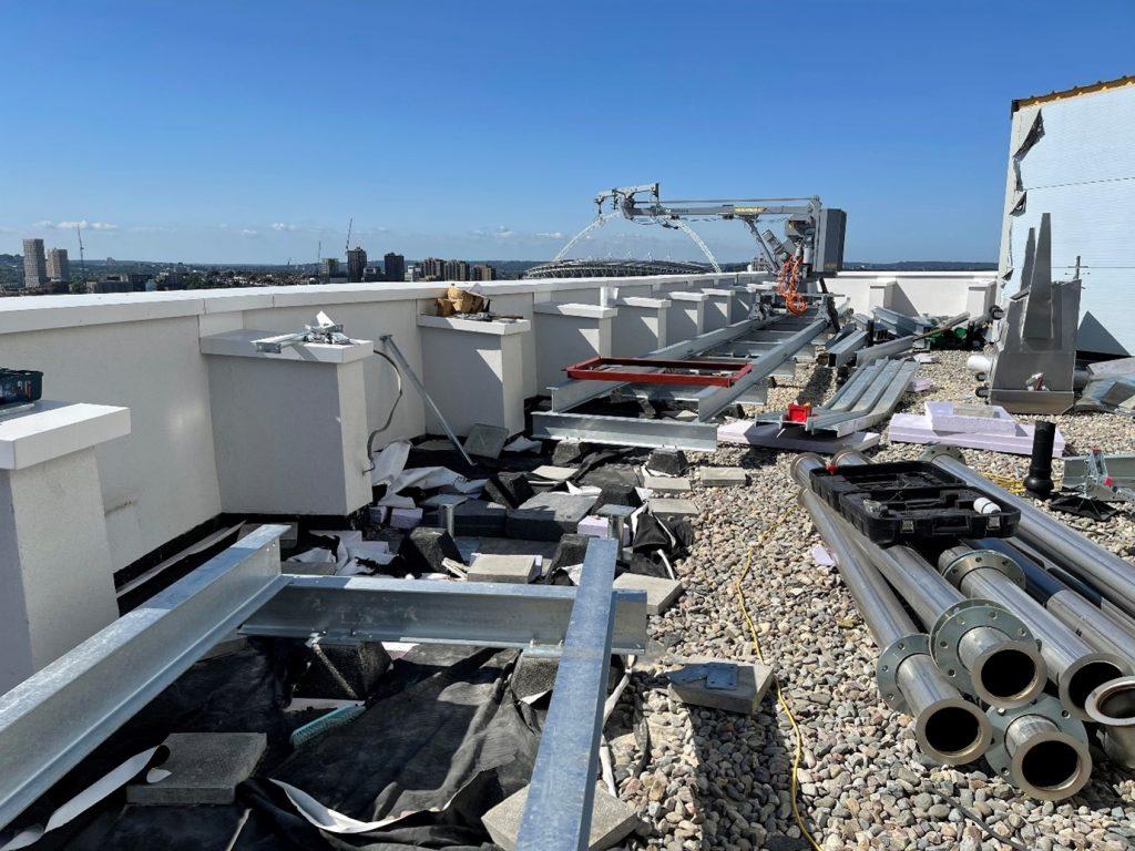 BMU London Install WEM Heightsafe 2