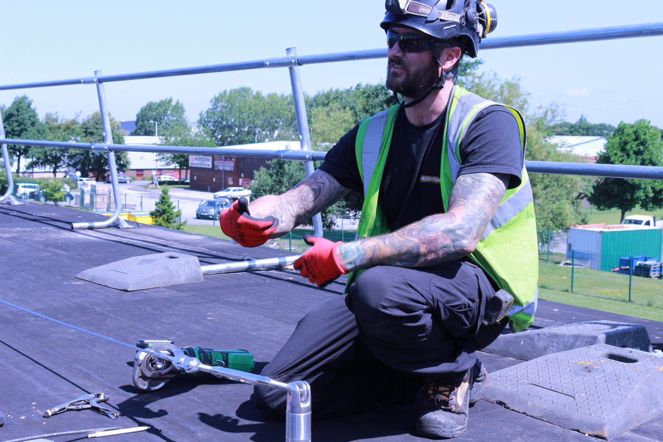 Heightsafe Safety Line Installation Training Course