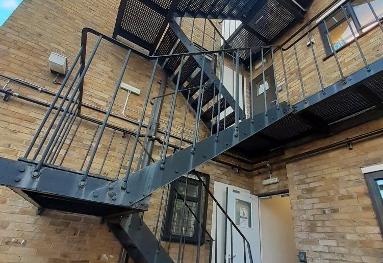 Heightsafe Fire Escape Staircase