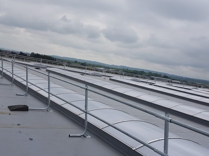 Guardrail Edge Protection Testing Roof Safety
