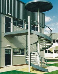 Commercial Fire Escape Stairs