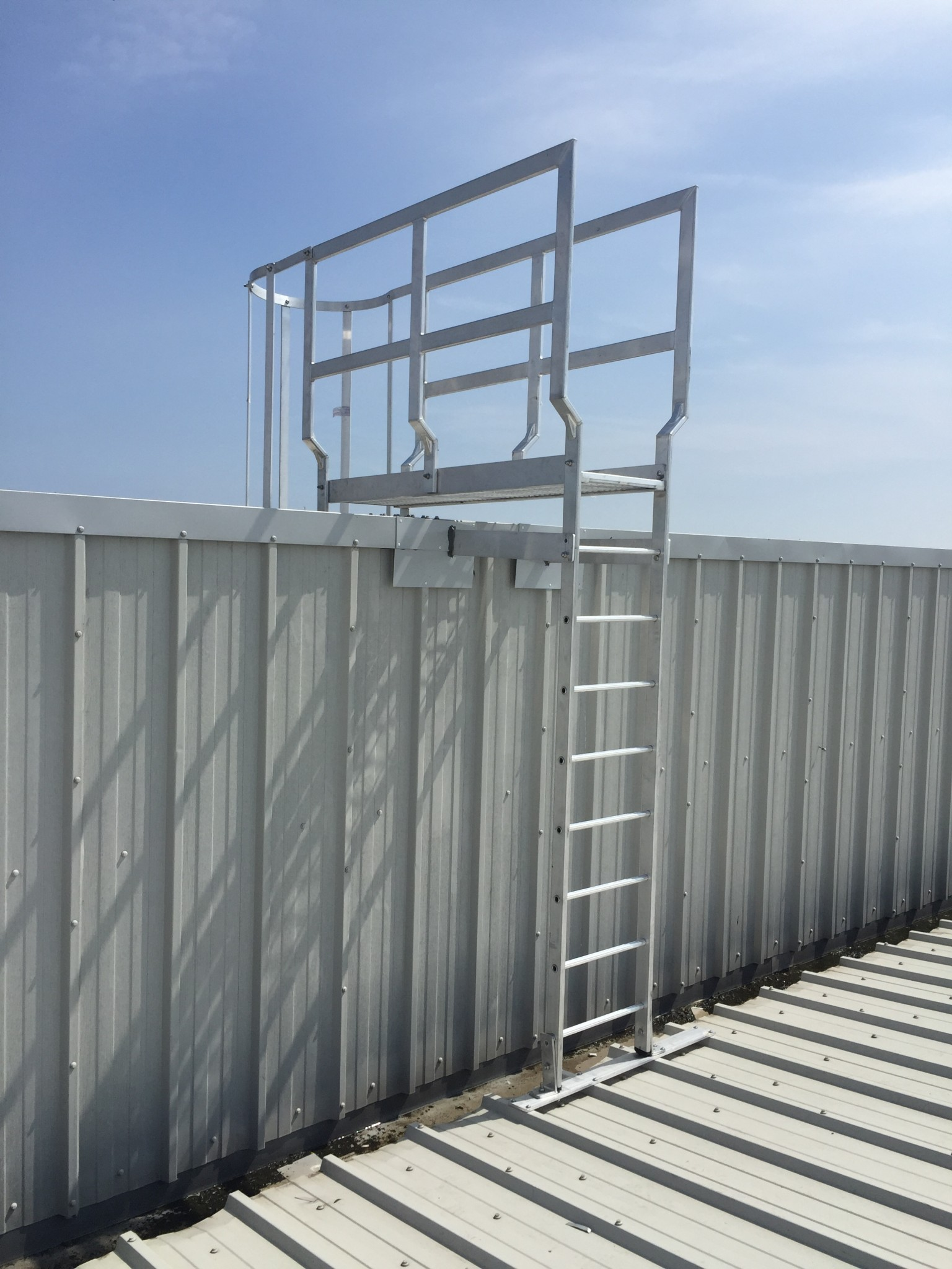 Roof Access Ladders And Stairs Fixed Access Heightsafe
