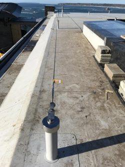 fall arrest concrete system