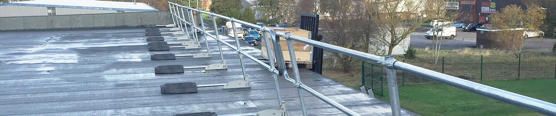 Roof Safety Handrails and Guardrails