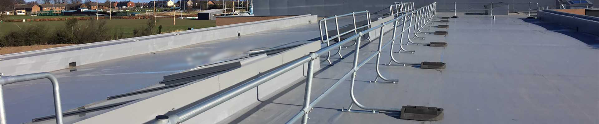 Edge Protection – Guardrails and Handrails