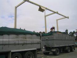 overhead hangman fall arrest system