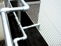Fixed Parapet Handrail