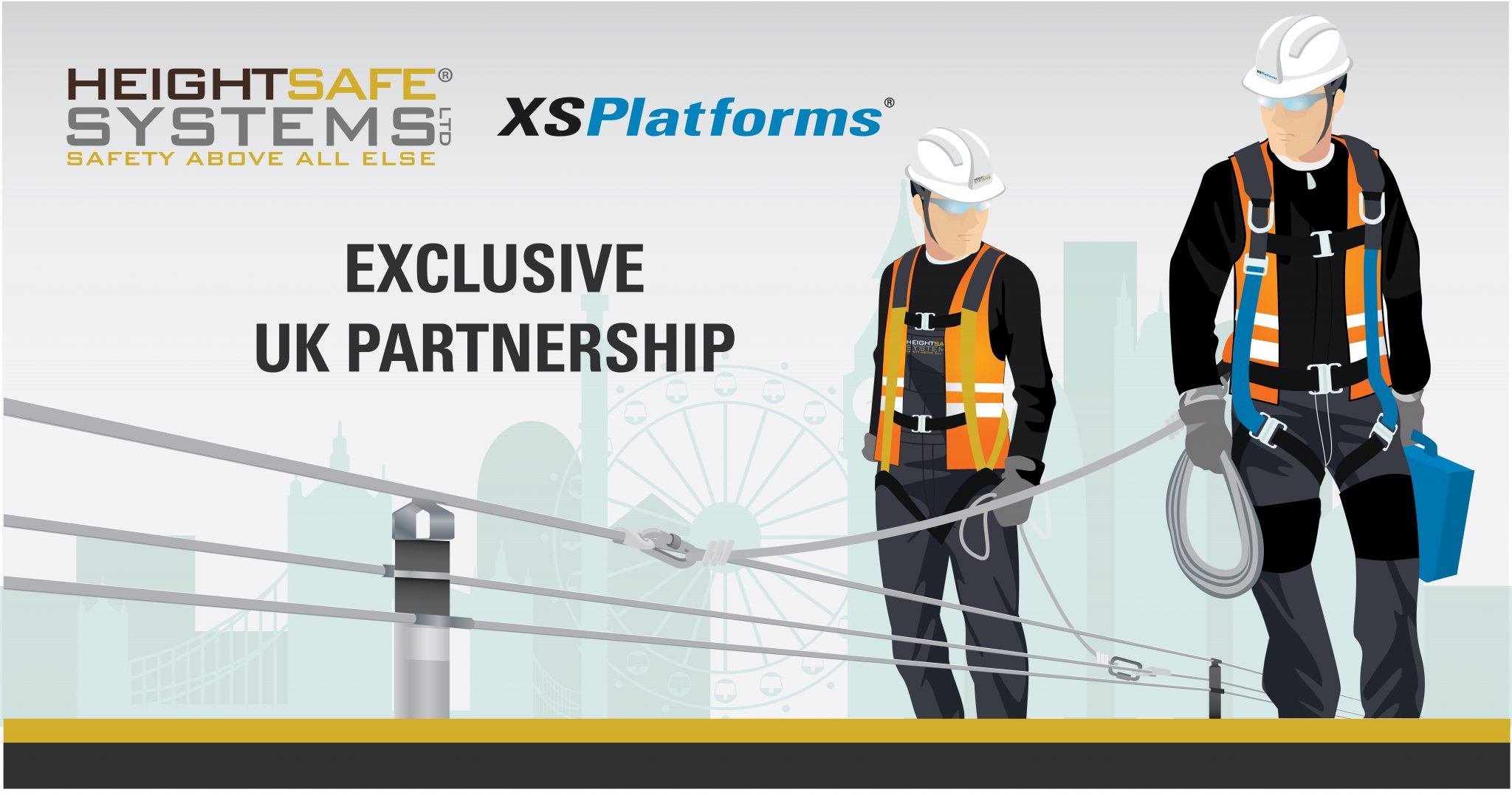 Heightsafe Systems Announce  Exclusive UK Partnership with XSPlatforms