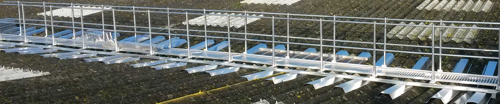 roofing walkway